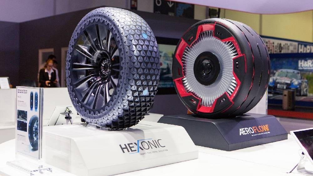 Hankook Lastikleri, Essen Motor Show 2018'de yeni fütüristik konsept lastiğini tanıttı