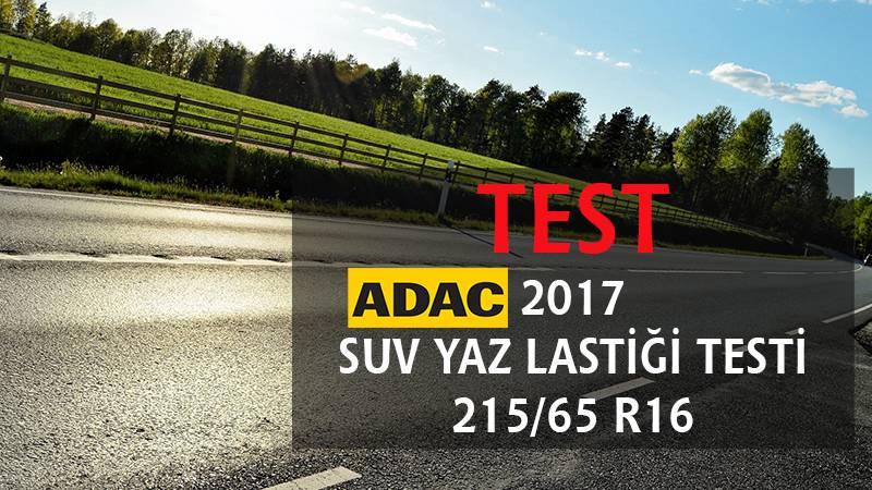 2017 ADAC SUV Yaz Lastiği Testi