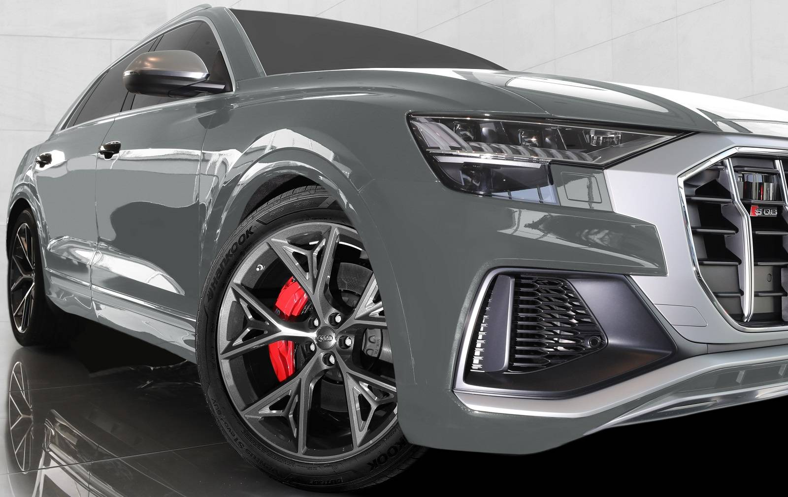 Yeni Audi SQ8 TDI Modelinin Orijinal Ekipman Lastiği Hankook Oldu
