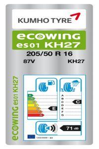 Kumho Ecowing ES01 KH27
